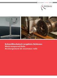 Rechargement de nouveaux rails - Goldschmidt Thermit Railservice ...