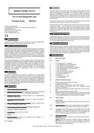 For in-vitro diagnostic use Product Code: FK219.1. - inova