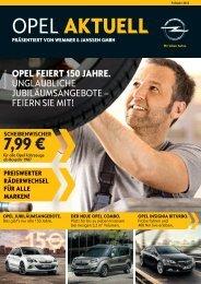 OPEL AKTUELL - Wemmer & Janssen GmbH