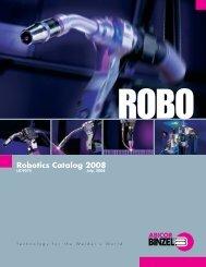 LIT.9075 Robo Catalog US printers - T.J. Snow Co., Inc.