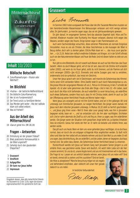 MNR 2003-10.pdf - Missionswerk Mitternachtsruf