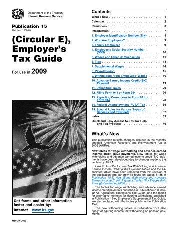 Circular E - GTM Payroll Services