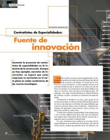 innovación - Biblioteca - Cámara Chilena de la Construcción