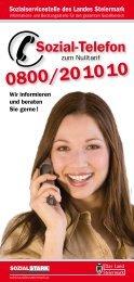 Sozial-Telefon - Sozialserver Land Steiermark