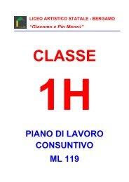 1H - Liceo Artistico Statale di Bergamo