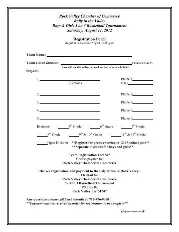 For 3 vs 3 basketball tournament registration form chamber 3 on 3 basketball tournament registration form 2012 sciox Gallery