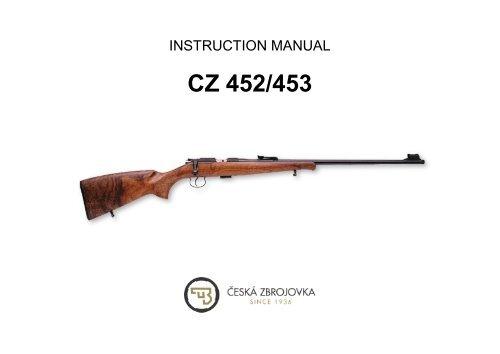 Instruction Manual CZ 452 / CZ 453