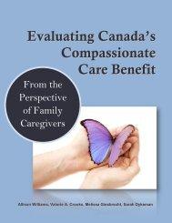 Evaluating Canada's Compassionate Care Benefit - Centre on ...