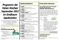 Programm der Fairen Wochen Fairen Wochen September ...