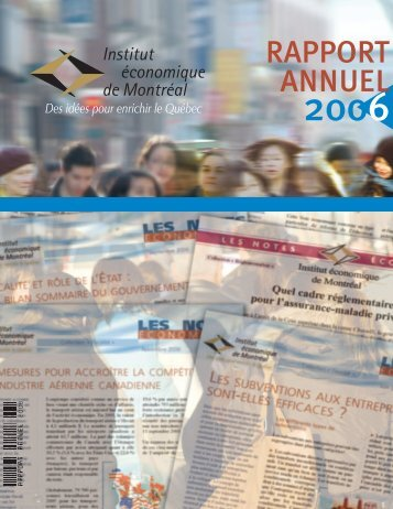 IEDM : Rapport annuel 2006