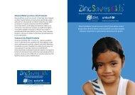 ZincSavesKids® - International Zinc Association