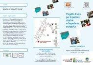 Progetto di vita per la persona disabile ed esperienza scolastica