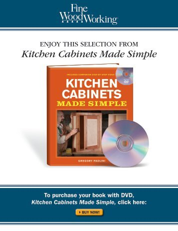 Kitchen Cabinets Made Simple - The Taunton Press