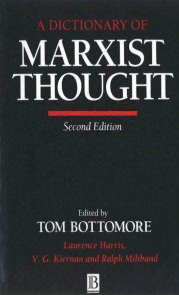 dictionary-of-marxist-thought