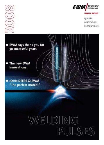 John Deere & ewm - EWM Welding Online