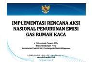 implementasi rencana aksi nasional penurunan emisi gas ... - IESR
