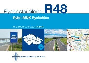 Rychlostní silnice R48 Rybí–MÚK Rychaltice - Ředitelství silnic a ...