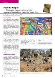 Tunkillia Project - Proterozoic shear-zone-hosted gold ... - MISA