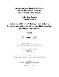 Low VOC ID markings
