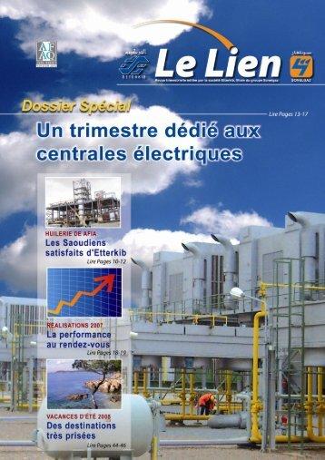 Vie Entreprise - Ministère de l'énergie et des mines
