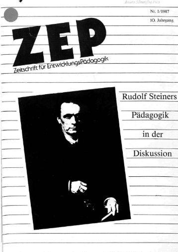 Rudolf Steiners Pädagogik in der Diskussion