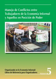 Manejo de Conflictos entre Trabajadores de la Economía Informal y ...