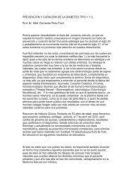 PREVENCIÓN Y CURACIÓN DE LA DIABETES - Terapia Neural