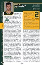 CROSBY - Packers
