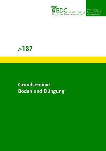 187 - Bundesverband Deutscher Gartenfreunde e.V.