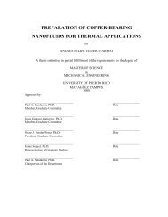preparation of copper-bearing nanofluids for thermal applications