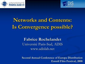 Is Convergence possible? - Europa Distribution