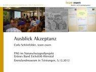 Präsentation aus der PAG II/2012 - Moderation team ewen (PDF