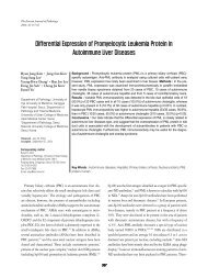 Differential Expression of Promyelocytic Leukemia Protein in ...