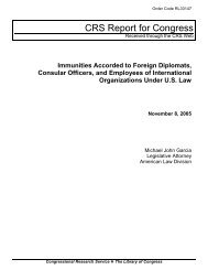 Immunities Accorded to Foreign Diplomats, Consular ... - FosterQuan