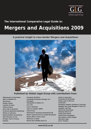 mergers. Acquisitions in South Africa - ENS