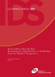 WORKING PAPER 309 - Institute of Development Studies