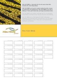 Musterkarte POLI-FLEX IMAGE - POLI-TAPE Klebefolien Gmbh