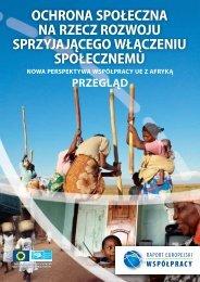 ochrona społeczna na rzecz rozwoju sprzyjającego ... - ERD