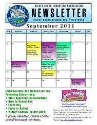 SBEA Newsletter Fall:Sept REV 09:05:11 - Silver Beach Elementary ...