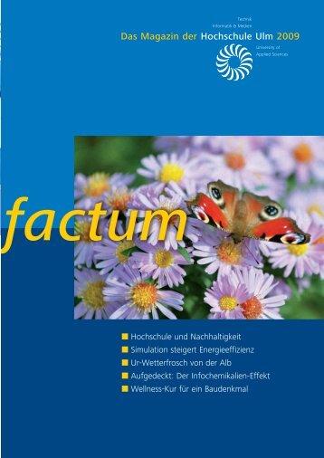 factum - Hochschule Ulm
