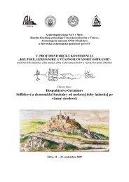 Aktuálny program - Slovenská archeologická spoločnosť
