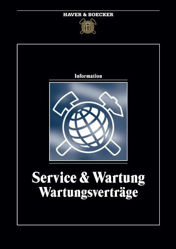 HAVER Wartung.pdf - Rauscher und Holstein