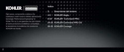 Senza titolo - Kohler Engines