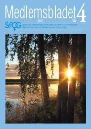 Medlemsblad 4 2007 - SFOG