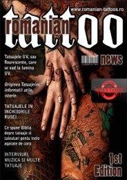 Romanian Tattoo News - Nr.01 - Tattoo Art's Style