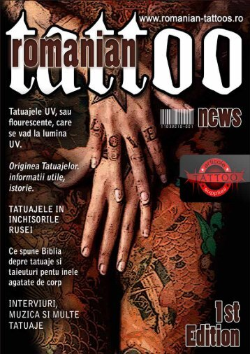 Romanian Tattoo News - Nr.01 - Tattoo Art's Style