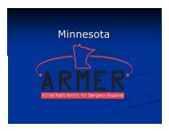 ARMER information - Otter Tail County