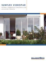 sunflex vidropar - Plataforma Arquitectura