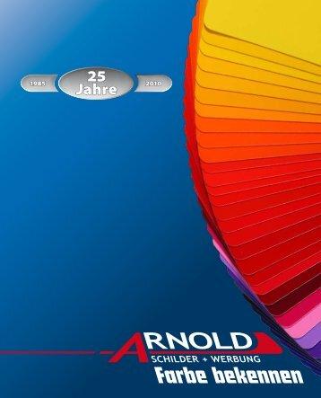 Farbe bekennen - Arnold Schilder und Werbung :: Metall