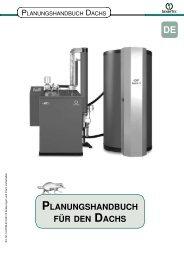 Planungshandbuch für den dachs - Senertec Center